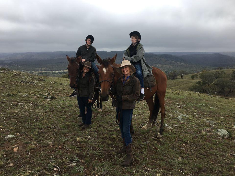 Led Horse Rides At Ba Mack Farmstay